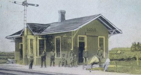 Big Four Sodus Depot